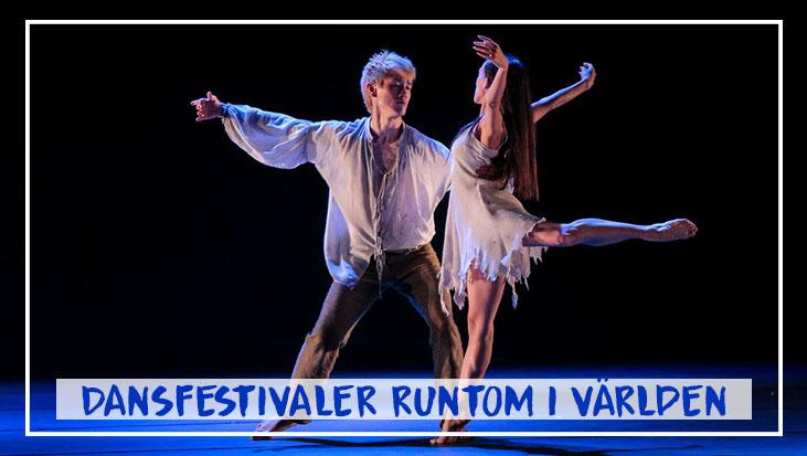 Dansfestivaler runtom i världen Featured Image